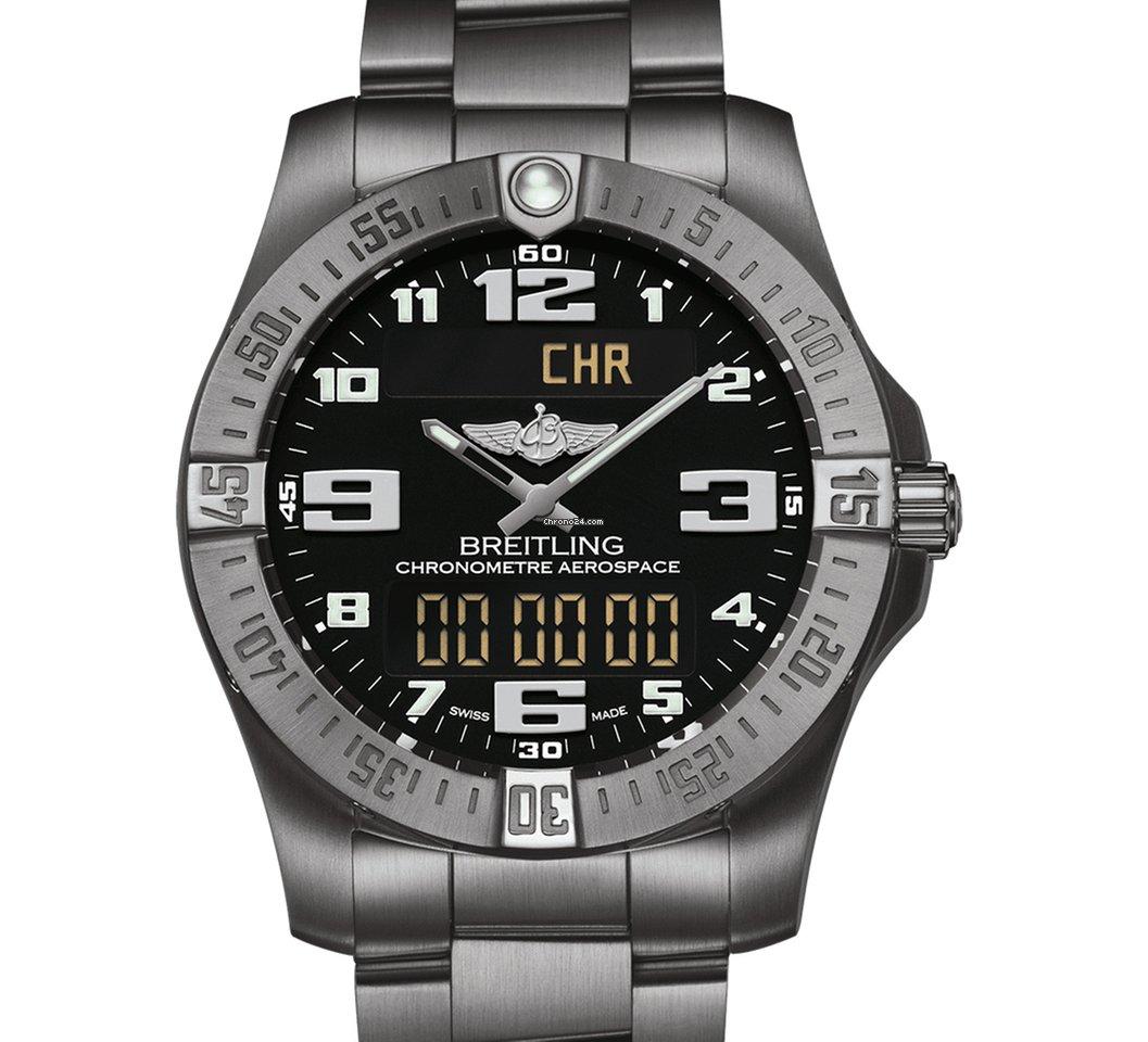 7c4caf2b44e Breitling Aerospace EVO - Todos os preços de relógios Breitling Aerospace  EVO na Chrono24