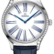 Omega De Ville Trésor новые Кварцевые Часы с оригинальной коробкой
