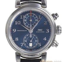 IWC Da Vinci Chronograph Stahl 42mm Blau Arabisch Deutschland, Bietigheim-Bissingen