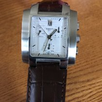 Tissot T-Trend TXL Brown Leather Strap Chronograph T60151733