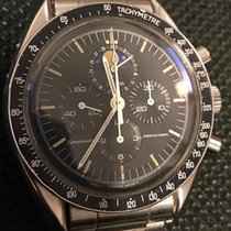 Omega Speedmaster Professional Moonwatch Moonphase Steel 42mm Black No numerals