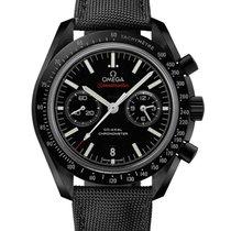 Omega Céramique Remontage automatique Noir 44.2mm nouveau Speedmaster Professional Moonwatch