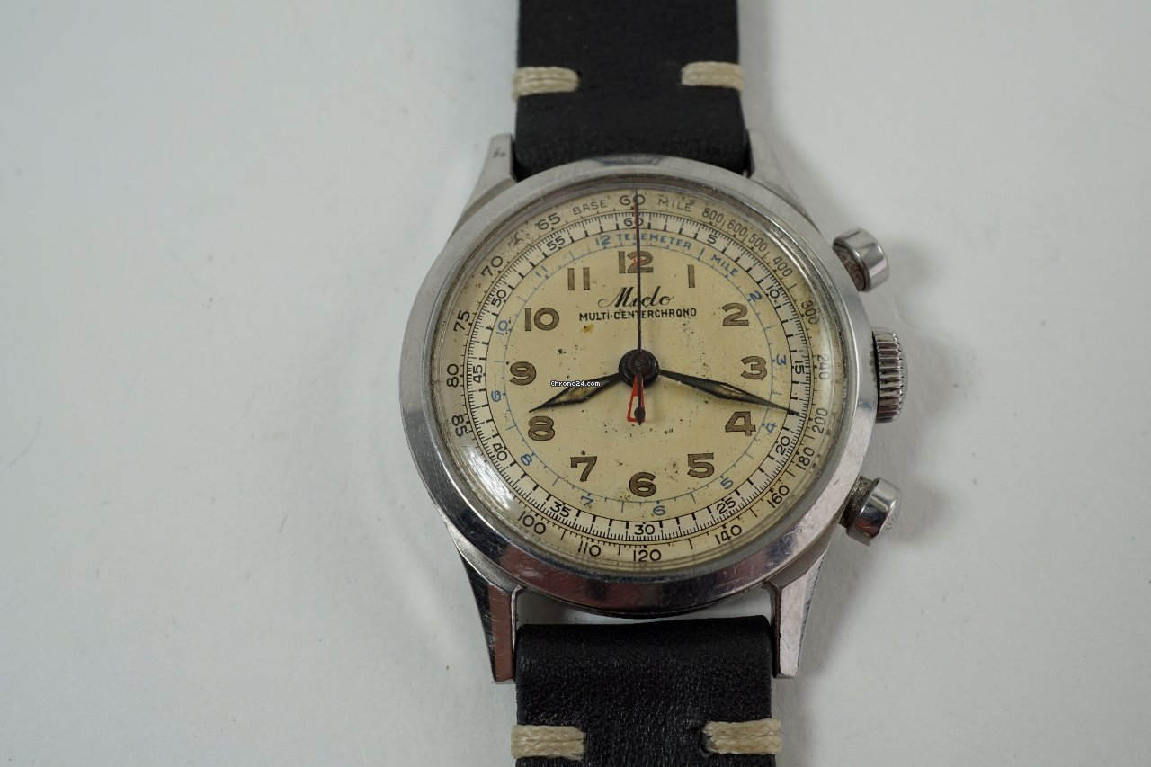 Mido Multifort 1940 pre-owned