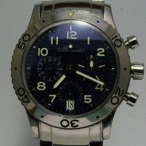 Breguet White gold Automatic Black Arabic numerals 39mm pre-owned Type XX - XXI - XXII