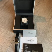 Maurice Lacroix Les Classiques Phases de Lune Staal 40mm Zilver Geen cijfers Nederland, Leeuwarden