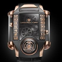 Christophe Claret Or rose 56.8mm Remontage manuel MTR.FLY11.080-088 nouveau