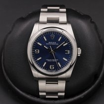 Rolex Oyster Perpetual 36 Steel 36mm Blue United States of America, California, Huntington Beach