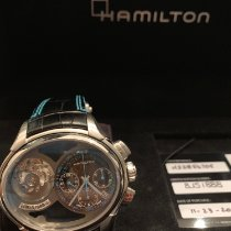 Hamilton Steel Automatic Silver 53mm new Jazzmaster Auto Chrono