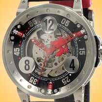 B.R.M Steel 44mm Automatic V6-44-SA-SQ-AR new
