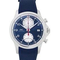 IWC Portugieser Yacht Club Chronograph neu Automatik Uhr mit Original-Box und Original-Papieren iw390507