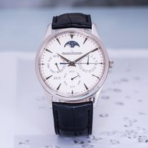 Jaeger-LeCoultre Master Ultra Thin Perpetual 积家1303520 2015 pre-owned