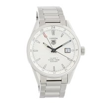 TAG Heuer Carrera Calibre 7 pre-owned 41mm White Date Steel