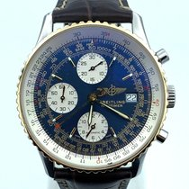 Breitling Old Navitimer Gold/Steel 42mm Blue Arabic numerals United States of America, New Jersey, Long Branch