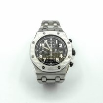Audemars Piguet Royal Oak Offshore Chronograph Steel Black Arabic numerals United States of America, Florida, Sunny Isles