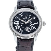 Audemars Piguet Millenary Ladies Steel 39.5mm Black Roman numerals
