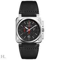 Bell & Ross BR 03-94 Chronographe BR0394-BLC-ST SCA Nowy Stal 42mm Automatyczny