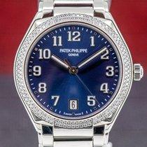 Patek Philippe Twenty~4 Steel 36mm Blue Arabic numerals