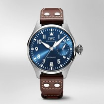 IWC Big Pilot Steel 46.2mm Blue Arabic numerals