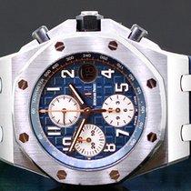 Audemars Piguet Royal Oak Offshore Chronograph Stahl 42mm Blau Arabisch Deutschland, München