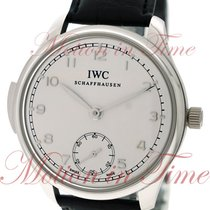 IWC Portuguese Minute Repeater Platino 44mm Plata Árabes