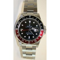 "Rolex GMT Master II 16710 Classic Model with ""Black & Red..."