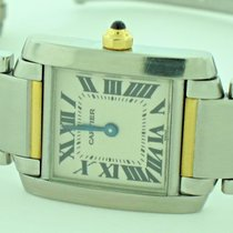 Cartier Tank Francaise 18K Gold