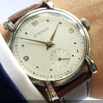 Eterna 37mm Oversize Jumbo Eterna with Fancy Lugs Vintage