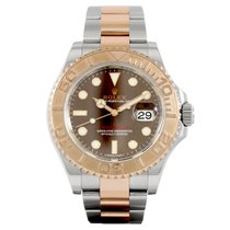 Rolex Yachtmaster 40 Rose Gold/Steel Chocolate Dial 116621