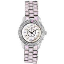 Dior Stainless Steel & Diamond Christal Ladies Watch CD112117