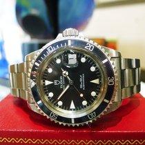 Tudor Rolex Submariner Stainless Steel Ref: 79090 Watch Circa...