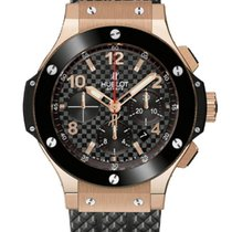 Hublot Rose gold Automatic Black 44mm new Big Bang 44 mm