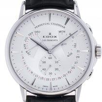 Edox 42mm Quartz new Les Bémonts Silver