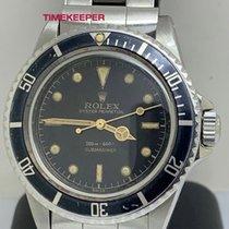 Rolex Submariner (No Date) Ocel 40mm Černá Bez čísel