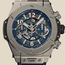 Hublot Chronograph 45mm Automatic new Blue