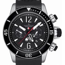 Jaeger-LeCoultre Master Compressor Diving Chronograph GMT Navy SEALs Titanio 46mm Negro Árabes