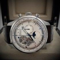 Zenith Chronograph 45mm Automatik 2014 gebraucht El Primero Chronomaster Silber