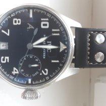 IWC Big Pilot Steel 45mm Black Arabic numerals