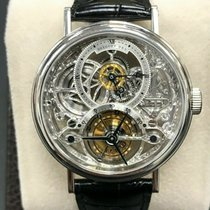 Breguet Platinum Manual winding Silver 35mm pre-owned Classique Complications