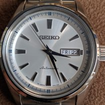 Seiko Presage Steel 41mm Silver United States of America, New Jersey, Clayton