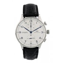 IWC Portuguese Chronograph Steel 41mm White United States of America, New York, New York