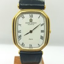 Michel Herbelin Goud/Staal 28mm Quartz 6046 tweedehands