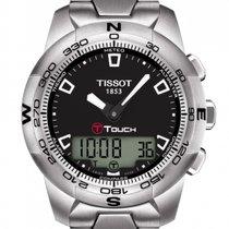 Tissot T-Touch II Stahl 43mm Schwarz