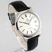 Omega Genève Steel 36.5mm Silver No numerals