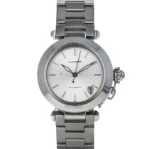 Cartier Pasha C Steel 35mm Silver Arabic numerals United States of America, Maryland, Baltimore, MD