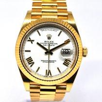 Rolex Day-Date 40 Oro amarillo 40mm Blanco España, Marbella