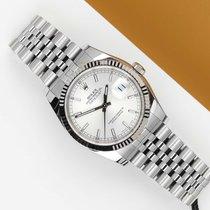 Rolex tweedehands Automatisch 36mm Zilver Saffierglas
