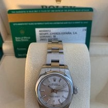 Rolex Oyster Perpetual 26 Steel 26mm White Arabic numerals
