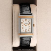 Jaeger-LeCoultre Grande Reverso Lady Ultra Thin Or/Acier 24mm Argent