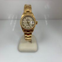 Rolex Lady-Datejust Yellow gold 26mm White No numerals United States of America, New York, Loudonville
