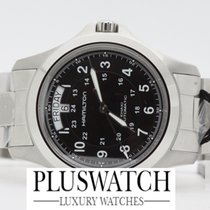 Hamilton Khaki Field King Aço 40mm Preto